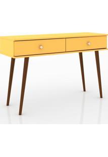 Aparador 2 Gavetas Retrô About Home - Amarelo - Multistock