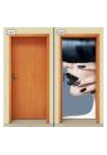 Adesivo Decorativo De Porta - Salão De Beleza - 1204Cnpt