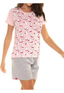 Pijama Curto Unicórnio Desayner (11647) Algodão