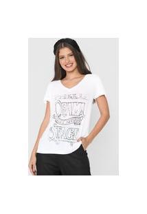 Camiseta Cantão Drama Branca