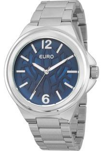 Relógio Euro Feminino Étnico Prata - Eu2039Jd/3A