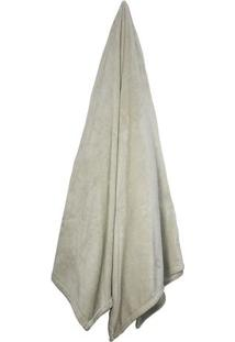 Cobertor Velour De Microfibra Neo De Solteiro- Bege Clarcamesa
