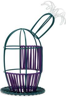 Marni Market Vaso De Flor Bird Cage - Roxo