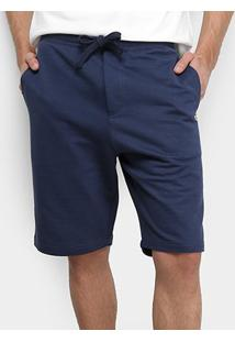 Bermuda Tommy Jeans Classics Sweatshort Masculino - Masculino-Azul