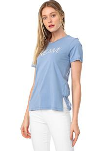 Camiseta Calvin Klein New Year Dream Azul