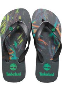 Chinelo Timberland Palm Gree Masculino - Masculino-Preto