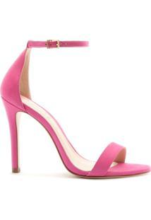 Sandália Gisele Nobuck Pink   Schutz