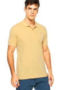 Camisa Polo Aramis Bordado Amarela