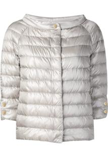 Herno Quilted Jacket - Cinza