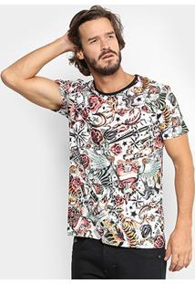 Camiseta Triton Full Print Tatto Masculina - Masculino
