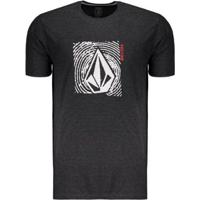 Camiseta Volcom Silk Stonar Waves Masculina - Masculino d1d075b9c4863