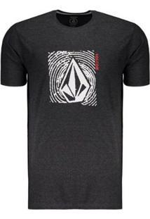 Camiseta Volcom Silk Stonar Waves Masculina - Masculino