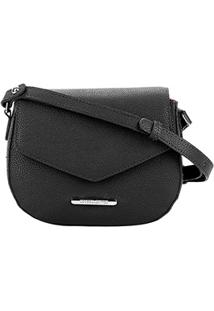 Bolsa Loucos E Santos Mini Bag Matelassê Feminina - Feminino-Preto