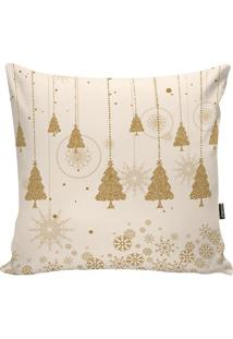 Capa Para Almofada New Christmas- Bege & Bege Escurostm Home