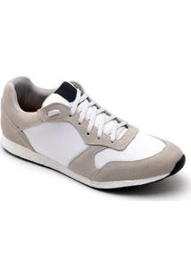 Tênis Dr Shoes Casual Masculino - Masculino-Bege