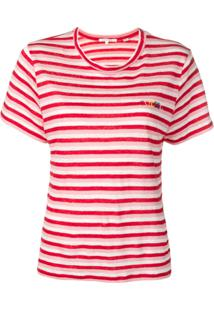 Chinti & Parker Blusa De Tricô Listrada - Vermelho