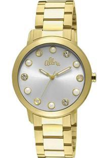 175ffa51388 Zattini. Relógio Feminino Allora Analógico Fashion - Unissex-Dourado