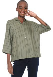 Camisa Cantão Listra Urbana Verde