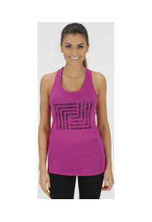 84a22d1174 ... Camiseta Regata Memo Nadador Print - Feminina - Rosa Escuro