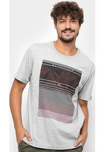 Camiseta Quiksilver Bas Stripe X - Masculina - Masculino