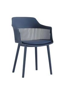 Cadeira Marcela Azul Marinho Rivatti