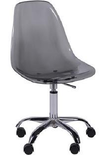 Cadeira Eames Dkr- Fumãª- 93X47X41Cm- Or Designor Design