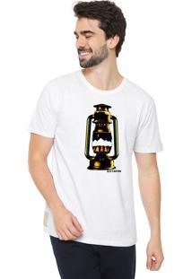 Camiseta Eco Canyon Lamparina Branco