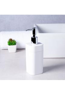 Porta Sabonete Líquido Splash 290Ml Branco Brinox
