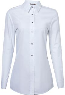Camisa Bobô Madonna Algodão Branco Feminina (Branco, 46)