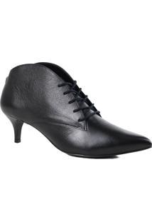Sapato Feminino Scarpin Jorge Bischoff Salto Fino