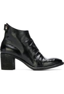 Officine Creative Sarah Ankle Boots - Preto