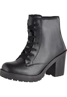 Bota Cr Shoes Easy Fosco Preto