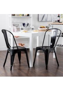 Cadeira Francesinha - Preto