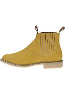 Bota Country Urbana Boots Amarelo
