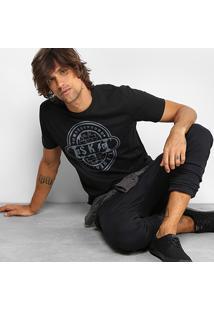 Camiseta Mood Underground Masculina - Masculino-Preto