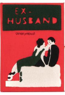 Olympia Le-Tan Clutch 'Ex-Husband' - Vermelho