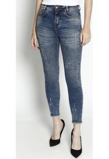 80a90b200 Privalia. Calça Algodão Jeans Poliester Skinny Zíper Feminina Beagle ...