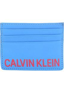 Carteira Couro Calvin Klein Bicolor Masculina - Masculino