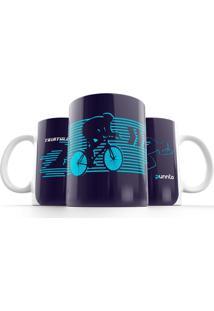 Caneca Punnto Triathlon - Azul Marinho - Dafiti