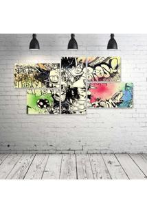 Quadro Decorativo - Urban-Arts - Composto De 5 Quadros