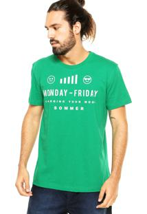 Camiseta Sommer Emotions Verde