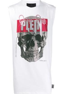 Philipp Plein Regata Skull - Branco