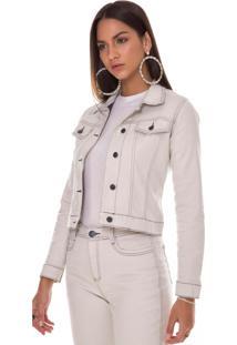 Jaqueta Jeans Zait Nigeria Branco
