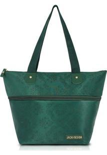 Bolsa Jacki Design Expansivel - Feminino-Verde