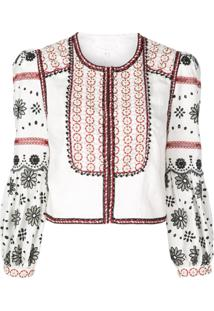 Veronica Beard Shilin Jacket - Branco