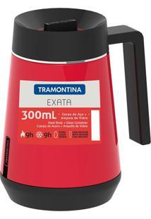 Bule Térmico Exata Com Infusor 300Ml Vermelho 61644036 Tramontina