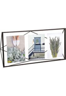 Porta-Retrato Prisma Multi Fotos Preto