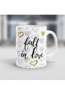 Caneca Porcelana Wevans Fall In Love