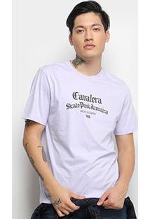 Camiseta T-Shirt Cavalera Estampada Masculina - Masculino-Roxo