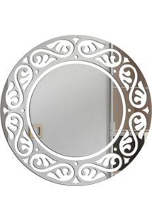 Espelho Love Decor Decorativo Circulo Veneziano Único